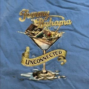 Tommy Bahama blue unconnected T-shirt
